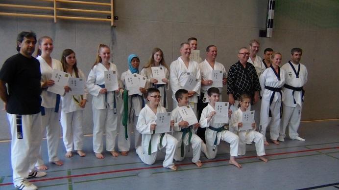 Kup- Prüfung kurz vor und nach den Ferien - Taekwondo